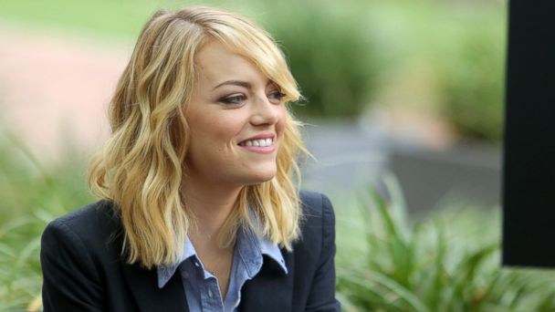 """PHOTO: Emma Stone attends """"The Amazing Spiderman"""" fan event at Sony Pictures Studios on Nov. 16, 2013 in Culver City, Calif."""