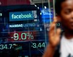 PHOTO: Facebook share price on Nasdaq
