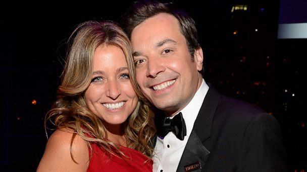 PHOTO: Nancy Juvonen and Jimmy Fallon attend TIME 100 Gala, TIMES 100 Most Influential People In The World at Jazz at Lincoln Center on April 23, 2013 in New York City.