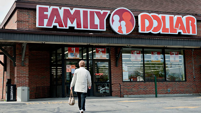 PHOTO: Family Dollar, along with other dollar stores, has quietly become a $56-billion industry and they are opening new locations faster than Starbucks.