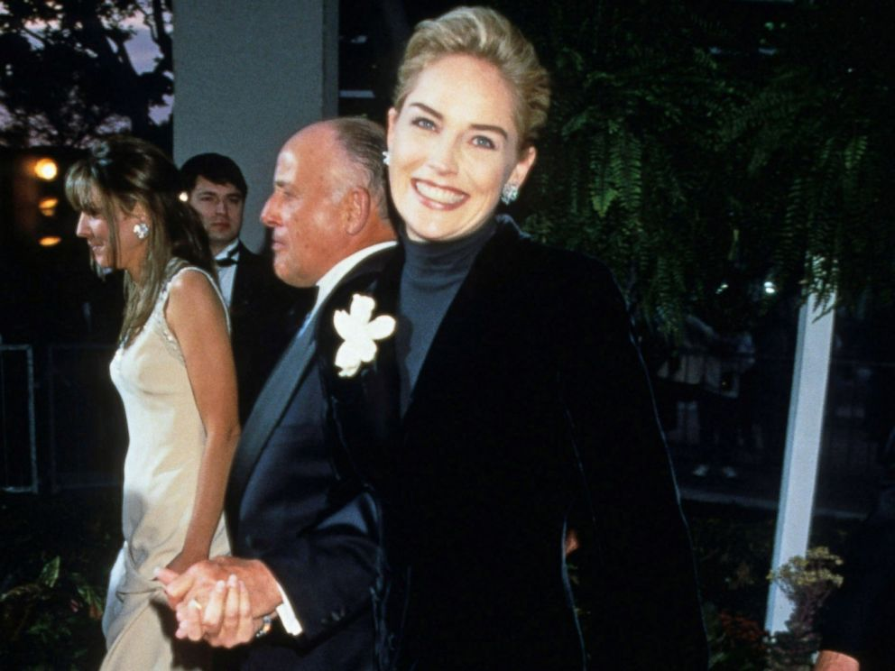 PHOTO: Sharon Stone walks the red carpet at the 68th Annual Academy Awards, March 25, 1996.
