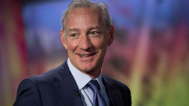 PHOTO: Greg Maffei, president and chief executive officer of Liberty Media Corp., speaks during an interview in New York, U.S., on May 22, 2013.