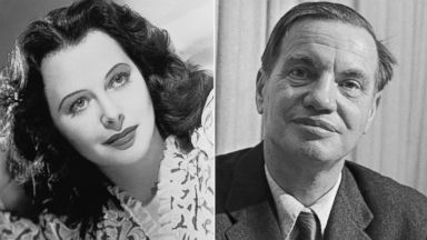 PHOTO: Actress Hedy Lamarr, pictured in 1943, and composer George Antheil, pictured in 1957, are credited with creating frequency hopping techniques that were important in the evolution of modern wireless communications.
