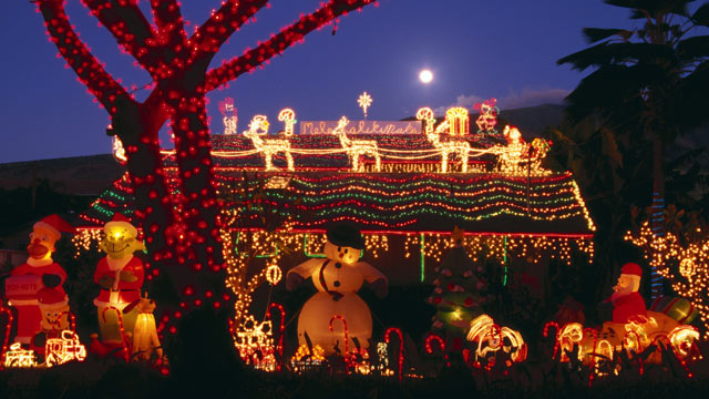 PHOTO: Its time to break out the decorations and light up the house to show your holiday spirit.