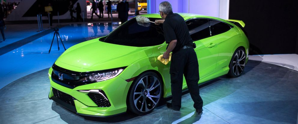 New York Auto Show Concept Cars A Designers Dream ABC News - Civic center car show