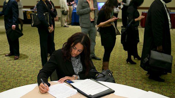 PHOTO: A National Career Fairs job fair.
