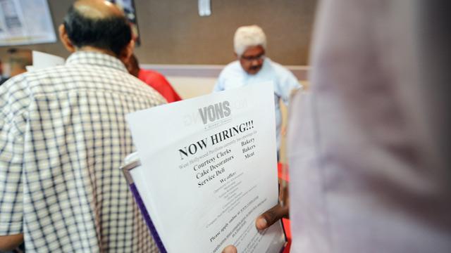 PHOTO: Job fair in Los Angeles