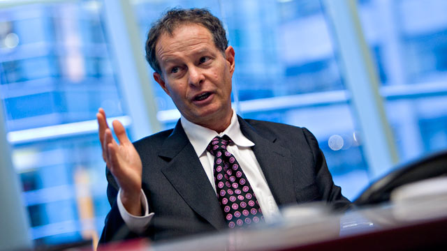 PHOTO: John Mackey, chief executive officer of Whole Foods Market Inc., speaks during an interview in New York, U.S., on Nov. 16, 2009.
