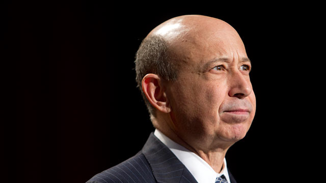 PHOTO: Lloyd Blankfein, chairman and chief executive officer of Goldman Sachs Group Inc.