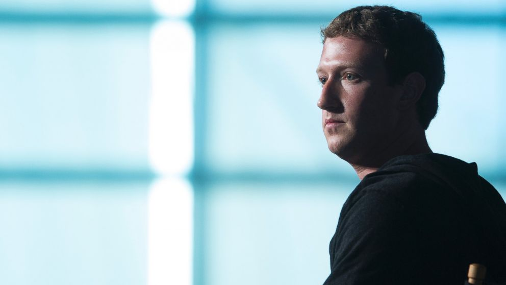 Mark Zuckerberg, founder and chief executive officer of Facebook Inc., listens to an audience member's question during an interview at the Newseum in Washington, D.C., U.S., on Sept. 18, 2013.