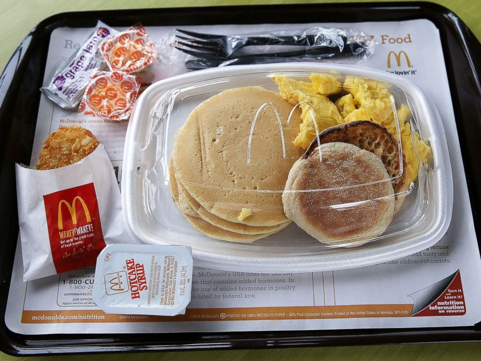 mcdonalds breakfast menu