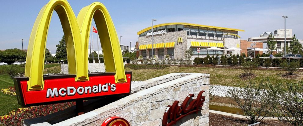PHOTO: An exterior of a new McDonalds fast-food restaurant is seen June 8, 2005 in Oak Brook, Ill.
