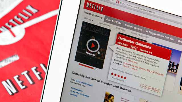 PHOTO: Netflix streaming service