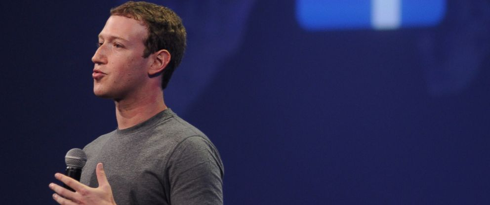 PHOTO: Facebook CEO Mark Zuckerberg introduces a new messenger platform at the F8 summit in San Francisco, March 25, 2015.