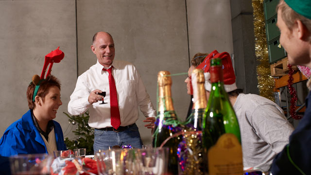 PHOTO: Party planners have said that more money is being spent on office holiday parties in 2012 than in recent years.