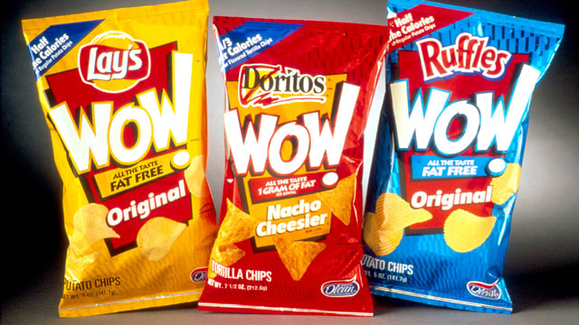 PHOTO: Olestra chips.