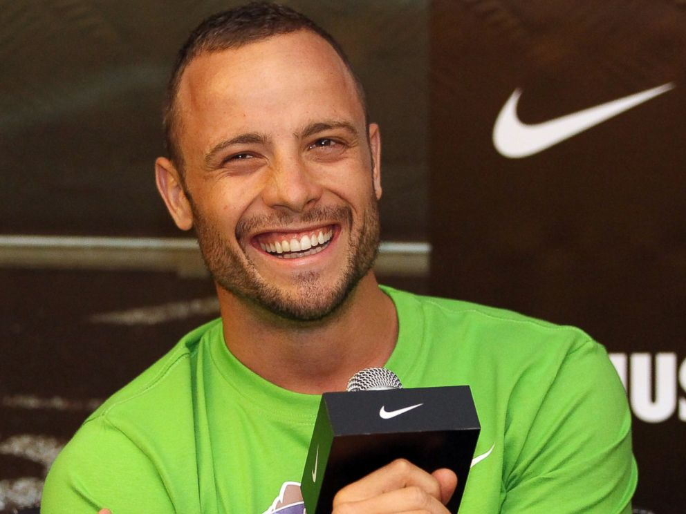 PHOTO: Oscar Pistorius during a media gathering at the Novatel Hotel prior to the 13th IAAF World Athletics Championships Daegu 2011 on August 26, 2011 in Daegu, South Korea.