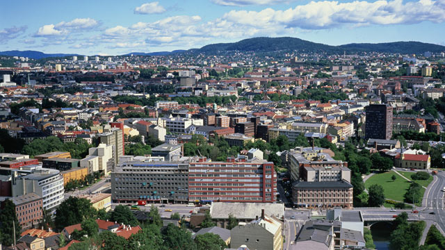 PHOTO: A view of Oslo, Norway.
