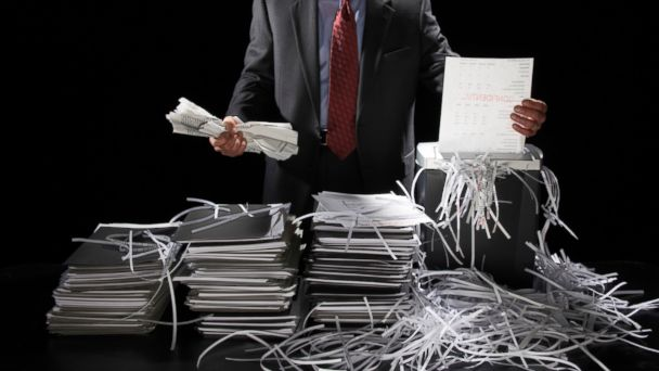 PHOTO: Shredding documents may not be a fool-proof way to protect against identity theft.