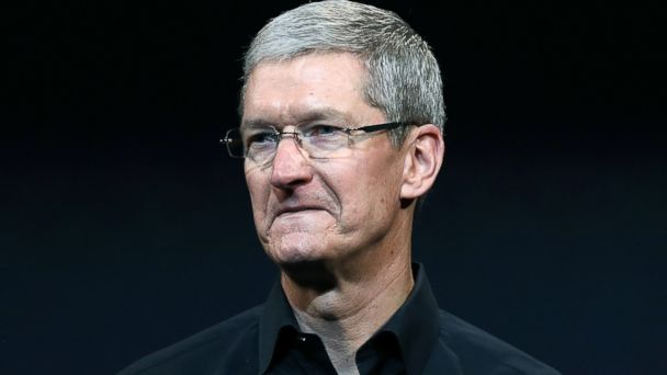 PHOTO: Apple CEO Tim Cook speaks during an Apple announcement at the Yerba Buena Center for the Arts on October 22, 2013 in San Francisco, Calif.