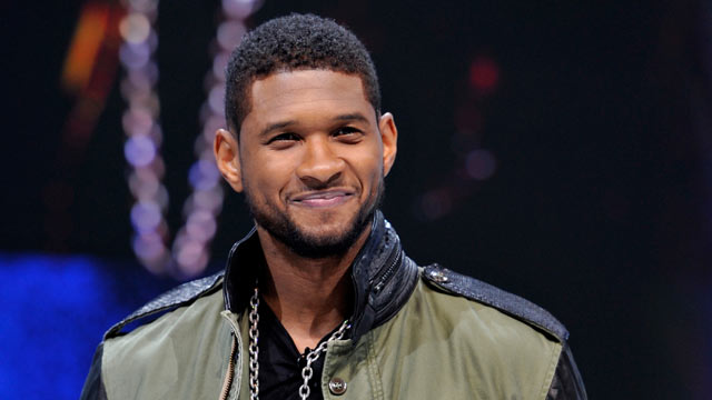 PHOTO: Usher attends the Mercedes-Benz presentation during the 83rd Geneva Motor Show on March 5, 2013 in Geneva, Switzerland.