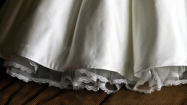 PHOTO: Wedding dress