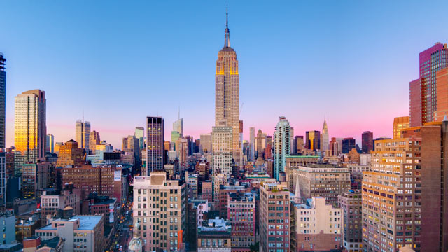 PHOTO: Empire State Building in Manhattan, New York City, New York