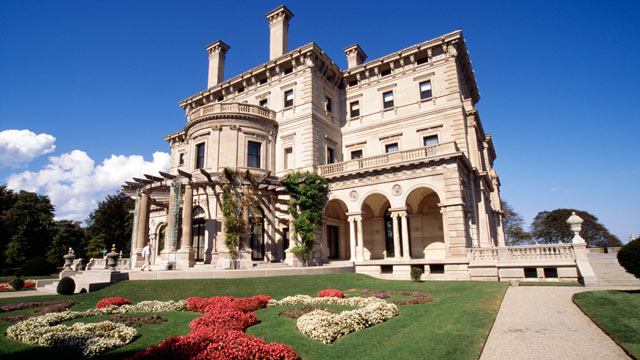 PHOTO: The Breakers Mansion in Newport, Rhode Island