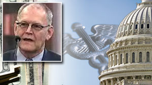 Retired health insurance executive Wendell Potter told Congress today that insurance companies routinely rip off customers.