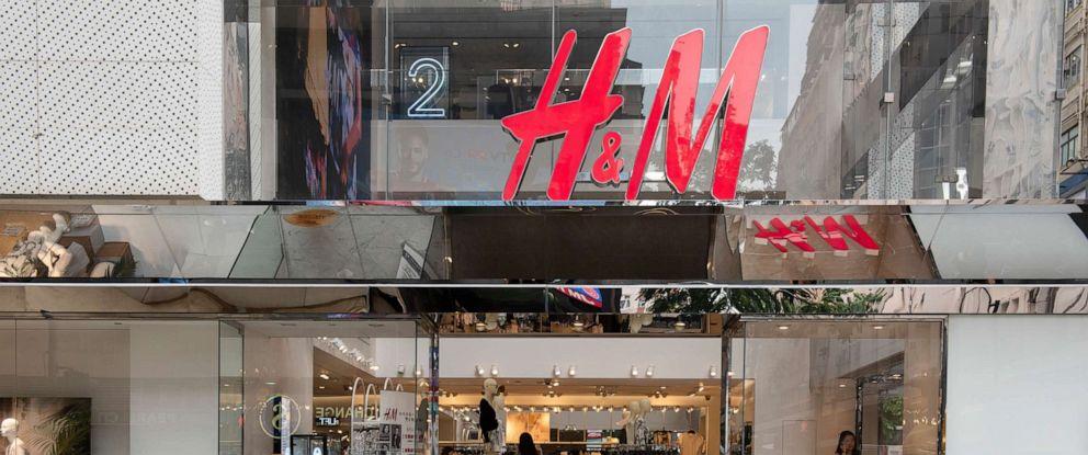 PHOTO: Swedish multinational clothing design retail company Hennes & Mauritz, H&M