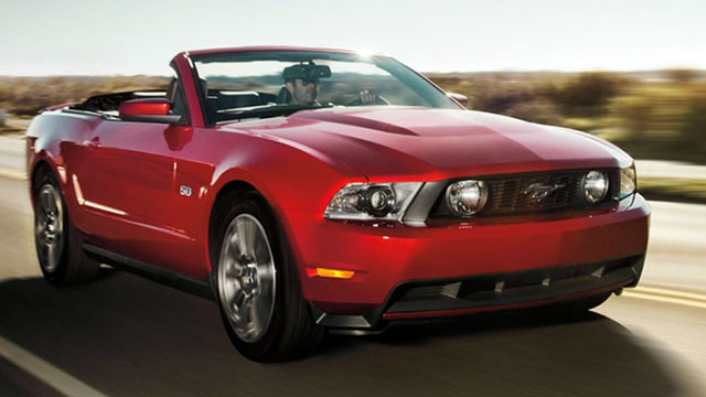 PHOTO: 2012 Ford Mustang