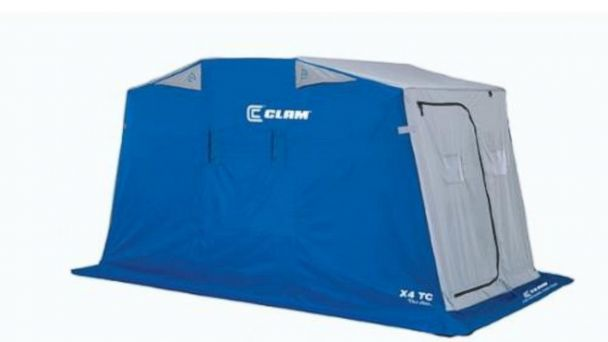 PHOTO: Clam X4 TC Ice Shelter is seen in this undated product shot from Marine General.