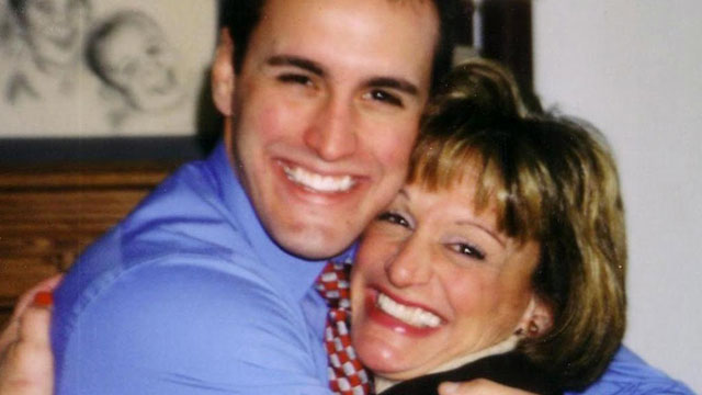 PHOTO: The Bryski family in New Jersey is hoping to push forward a bill that provides transparency for student loan co-signers. Christopher Bryski, a graduate of Rutgers University shown with his mother, died in 2006.