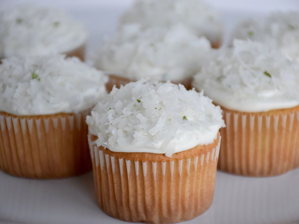 PHOTO: Foodstirs coconut lime cupcakes.