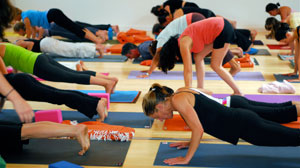 Yoga Booms As Americans Seek Refuge From Economy