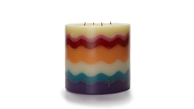 PHOTO: Missoni Torta Candle