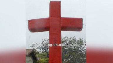 """PHOTO: """"Giant inflatable cross for Easter decoration"""" for sale on Alibaba.com"""