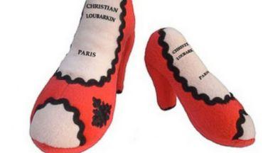 "PHOTO: ""Christian Loubarkin Louboutin Inspired Shoe Toy"" from Alibaba.com"