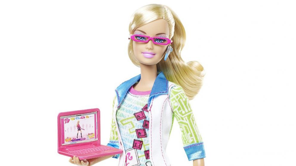 Barbie I Can Be A Computer Engineer Doll