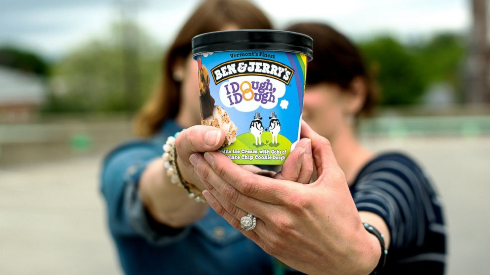Chocolate Chip Cookie Dough has been renamed to I Dough, I Dough in participating Ben & Jerry's Scoop Shops.