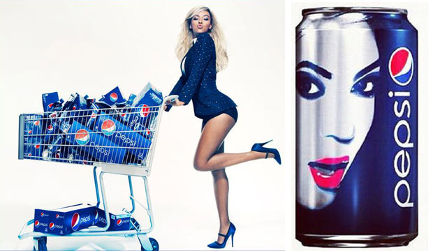 Photo Beyonce Has Teamed Up With Pepsi As Its New Brand Ambassador