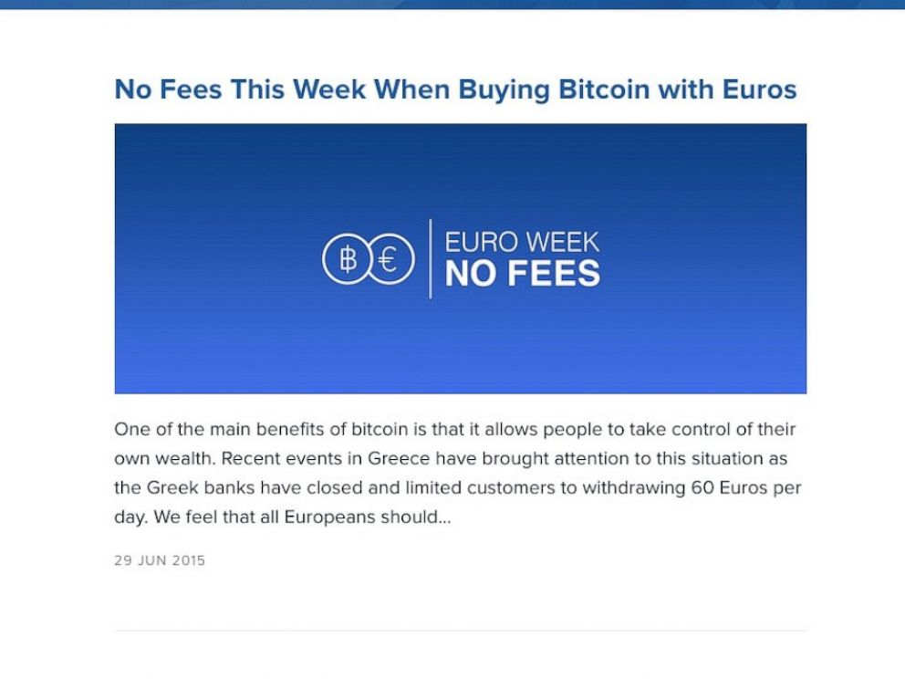 Some greeks turn to electronic currency bitcoin during euro troubles photo the coinbase website offers a promotion to customers who exchange euros july 1 bitcoin ccuart Image collections