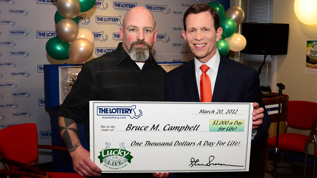 Mass  Plumber Wins $1K a Day for Life Lottery - ABC News