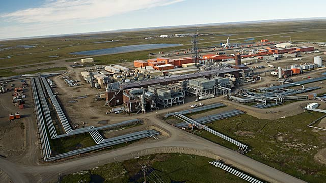 PHOTO: Kuparuk, Alaska oil production