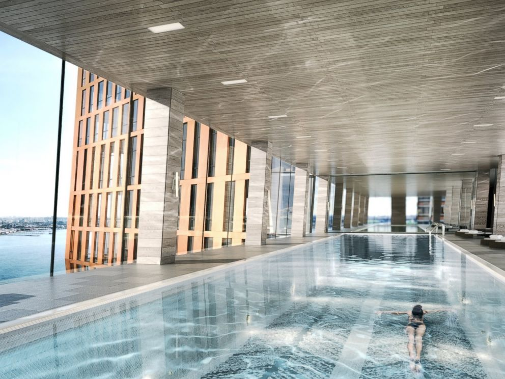 New York City Building With Pool In The Sky To Open This