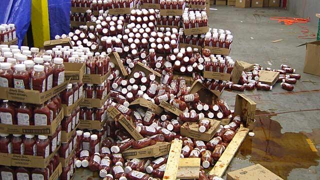 PHOTO: Counterfeit ketchup