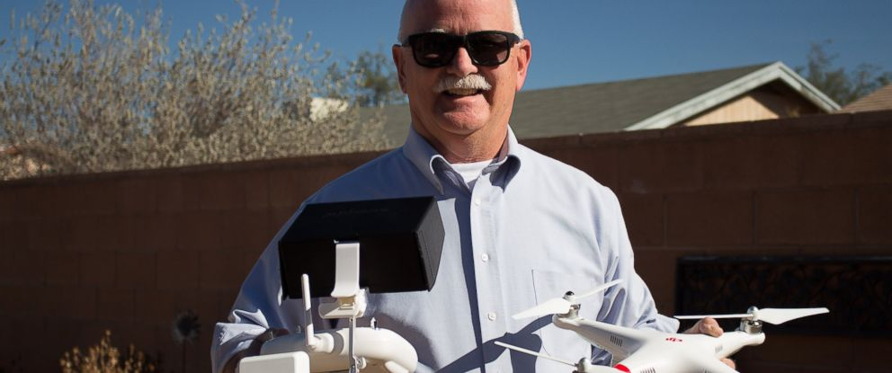 PHOTO: Doug Trudeau, a realtor in Tucson, Ariz., received the first FAA unmanned aircraft exemption for commercial use in real estate.