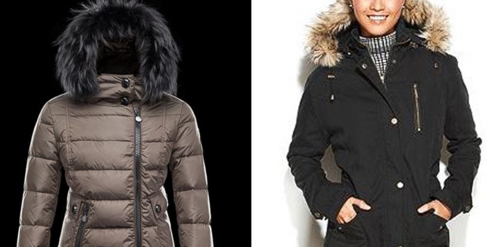 b7ed2bc33db PHOTO: The Monclear Bryone jacket, left, retails for $1525. The RACHEL  Rachel