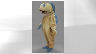 PHOTO: A fish mascot costume for Halloween is being sold for $1,369.95 on Amazon.com.