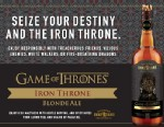 """PHOTO: Brewery Ommegang and HBO have partnered to make a """"Game of Thrones"""" inspired beer."""